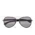 Calvin Klein Jeans Unisex Aviator Sunglasses - Gunmetal: Image 1