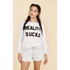 Wildfox Women's Reality Sucks Baggy Beach Jumper - Jacuzzi: Image 2