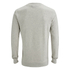 Jack & Jones Men's Seek Crew Neck Sweatshirt - Treated White: Image 2