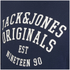 Jack & Jones Men's Seek Crew Neck Sweatshirt - Navy Blazer: Image 3
