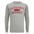Jack & Jones Men's Seek Crew Neck Sweatshirt - Light Grey Marl: Image 1