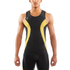 Skins DNAmic Men's Sleeveless Top - Black/Citron: Image 3