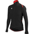 Sportful Fiandre Light Wind Long Sleeve Jersey - Black/Red/Black: Image 1