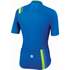 Sportful BodyFit Pro Race Short Sleeve Jersey - Blue/Yellow: Image 2