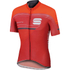 Sportful Gruppetto Pro Race Short Sleeve Jersey - Red/Grey: Image 1
