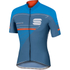 Sportful Gruppetto Pro Race Short Sleeve Jersey - Blue/Red: Image 1