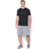Under Armour Men's HeatGear Raid Graphic Short Sleeve T-Shirt - Black: Image 3