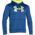 Under Armour Men's Storm Armour Fleece Big Logo Twist Hoody - Blue: Image 1