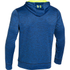 Under Armour Men's Storm Armour Fleece Big Logo Twist Hoody - Blue: Image 2