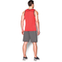 Under Armour Men's Tech Tank Top - Red/Black: Image 5