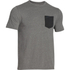 Under Armour Men's Tri-Blend Pocket T-Shirt - Grey: Image 1