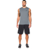 Under Armour Men's Tech Sleeveless T-Shirt - Grey: Image 3