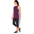Under Armour Women's Studio Muscle Tank Top - Purple: Image 4