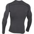 Under Armour Men's ColdGear Armour Compression Long Sleeve Crew Top - Dark Grey: Image 2