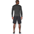 Under Armour Men's ColdGear Armour Compression Long Sleeve Crew Top - Dark Grey: Image 5