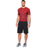 Under Armour Men's HeatGear CoolSwitch Compression Short Sleeve Shirt - Red: Image 3