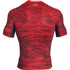 Under Armour Men's HeatGear CoolSwitch Compression Short Sleeve Shirt - Red: Image 2