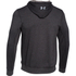 Under Armour Men's Tri-Blend Fleece Hoody - Black: Image 2