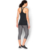 Under Armour Women's HeatGear Racer Tank Top - Black: Image 5