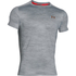 Under Armour Men's CoolSwitch Run Podium Short Sleeve T-Shirt - Grey/Red: Image 1