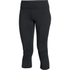 Under Armour Women's Mirror Crop Leggings - Black: Image 1