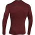 Under Armour Men's ColdGear Armour Twist Compression Crew Top - Red/Black: Image 2