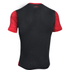 Under Armour Men's Raid Short Sleeve T-Shirt - Red/Black: Image 2