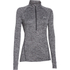 Under Armour Women's Tech 1/2 Zip Twist Long Sleeve Top - Black: Image 1