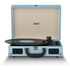 Akai Rechargeable Portable Briefcase Turntable with Built-In Speaker - Blue: Image 2