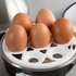 Tower T19010 Egg Cooker and Poacher - Stainless Steel: Image 3