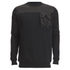 4Bidden Men's Liberty Crew Neck Sweatshirt - Black: Image 1