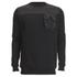 4Bidden Men's Liberty Crew Neck Sweatshirt - Black: Image 1
