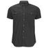 Smith & Jones Men's Pelmet Short Sleeve Shirt - Black: Image 1