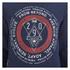 Smith & Jones Men's Pseudo Print Hoody - Navy Blazer Marl: Image 3