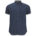 Smith & Jones Men's Pelmet Short Sleeve Shirt - Navy Blazer: Image 1