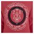 Smith & Jones Men's Pseudo Print Hoody - True Red Marl: Image 3