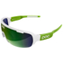 POC DO Half Blade Sunglasses - Hydrogen White/Cannon Green