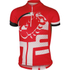 Castelli Children's Veleno Short Sleeve Jersey - Red: Image 1