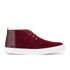 Oliver Spencer Men's Beat Chukka Boots - Burgundy Suede: Image 1