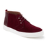 Oliver Spencer Men's Beat Chukka Boots - Burgundy Suede: Image 2