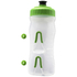 Fabric Cageless Water Bottle (600ml) - Clear/Green: Image 3