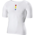 Look Active Short Sleeve Base Layer - White: Image 1