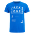 Jack & Jones Men's Core Fate T-Shirt - Director Blue: Image 1