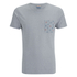 Jack & Jones Herren Originals Bobby Pocket Print T-Shirt - Light Grau Marl: Image 1