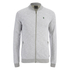 Jack & Jones Men's Originals Lock Baseball Zip Through Sweatshirt - Light Grey Marl: Image 1