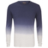 Jack & Jones Men's Originals Dyed Knitted Crew Neck Jumper - Navy Blazer: Image 1
