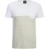 Jack & Jones Herren Originals Tobe 2 Tone T-Shirt - Weiß: Image 1