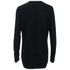 McQ Alexander McQueen Women's Sequin Bunny Crew Sweatshirt - Darkest Black: Image 2