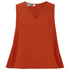 McQ Alexander McQueen Women's Volume Top - Red: Image 1