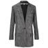 McQ Alexander McQueen Women's Sequin Blazer - Silver: Image 1
